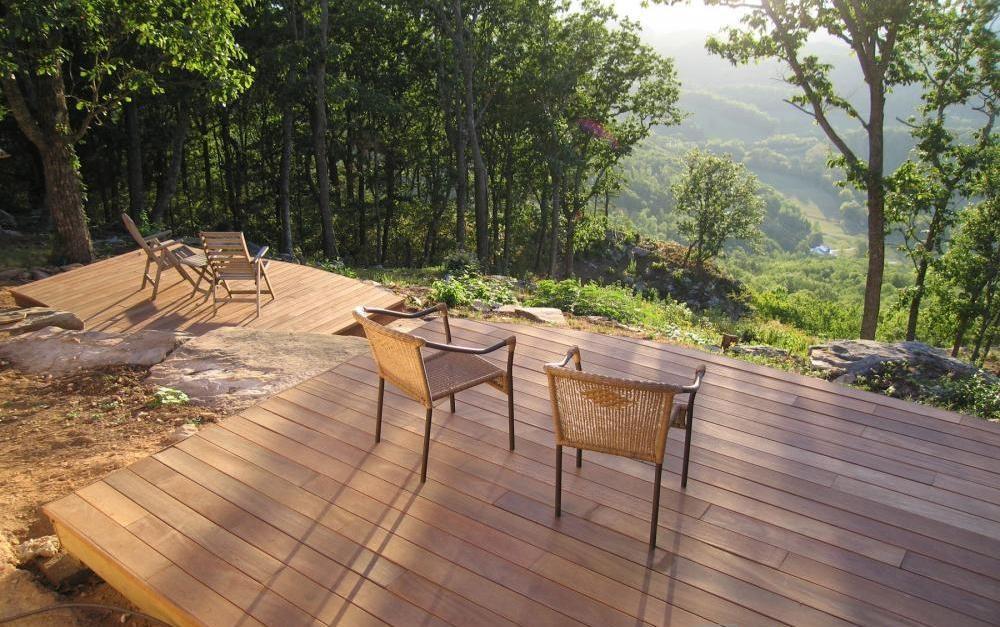 lesene terase sibirski macesen